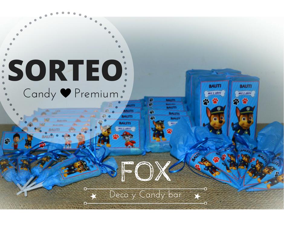 fox deco y candy bar imperdible no te puedes perder. Black Bedroom Furniture Sets. Home Design Ideas