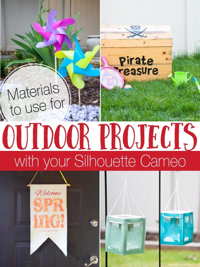 Silhouette cameo 3 outdoor projects outdoor decor, permanent vinyl, outdoor vinyl