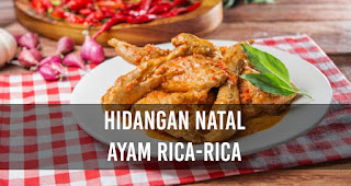 Hidangan Natal Ayam Rica-Rica