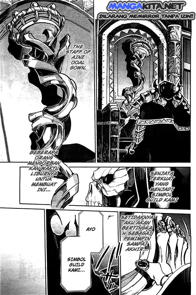 Overlord Chapter  1 Bahasa Indonesia