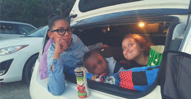 Summer fun at the drive in