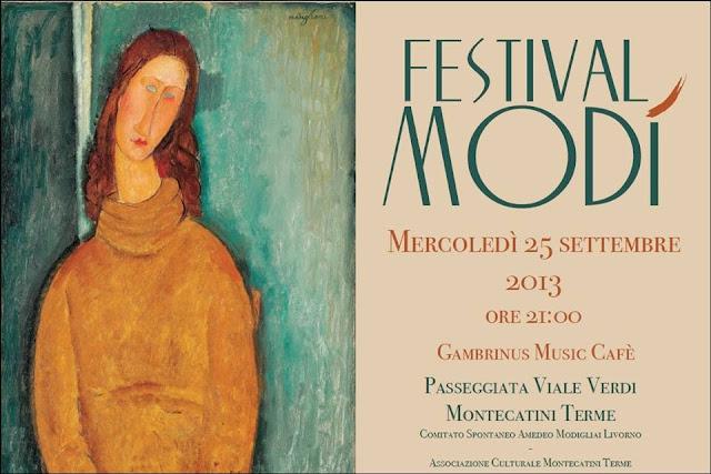 Comunicato Stampa  Comitato Spontaneo Amedeo Modigliani