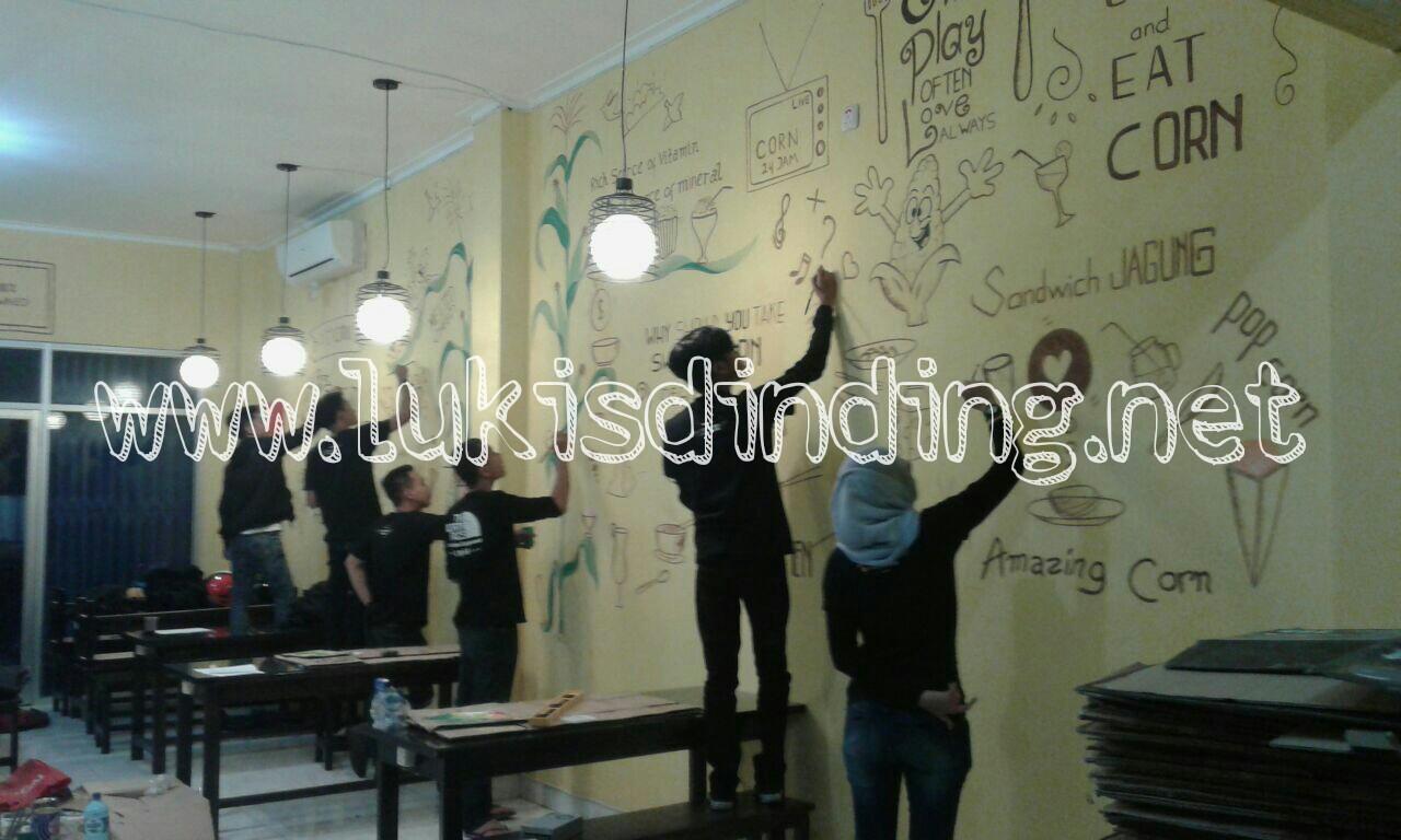 Lukis Tembok Cafe Lukisan Mural Cafe Lukisan Dinding Cafe