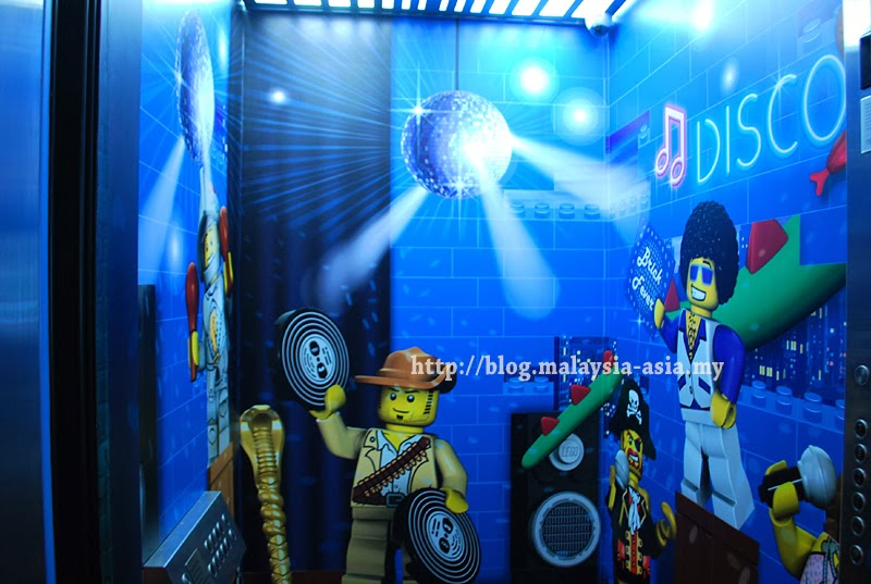 Elevators Legoland Hotel Malaysia