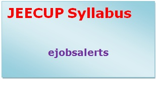 JEECUP Syllabus 2017