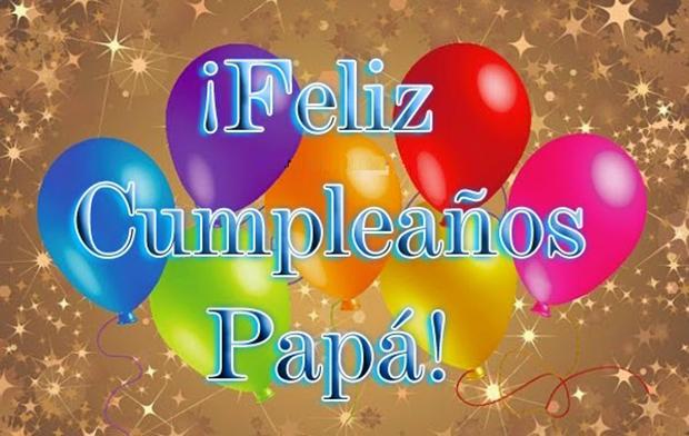feliz cumpleaños papa