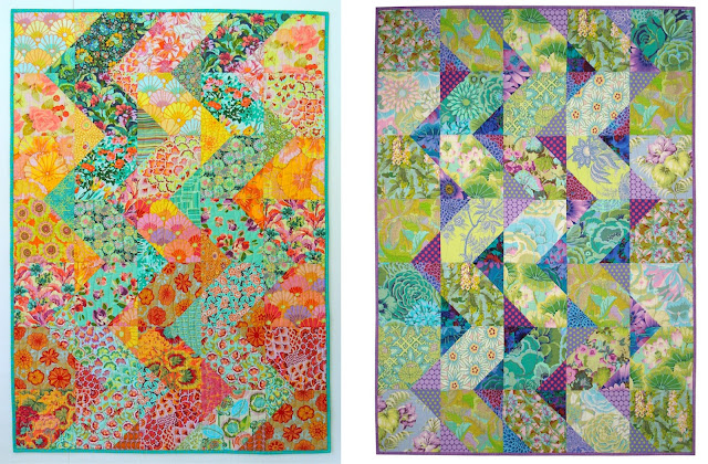 Cascade quilt pattern, Springleaf Studios,