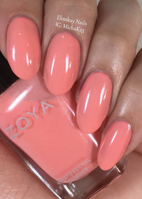 Ehmkay nails zoya petals collection for spring 2016 for 3d nail salon midvale utah