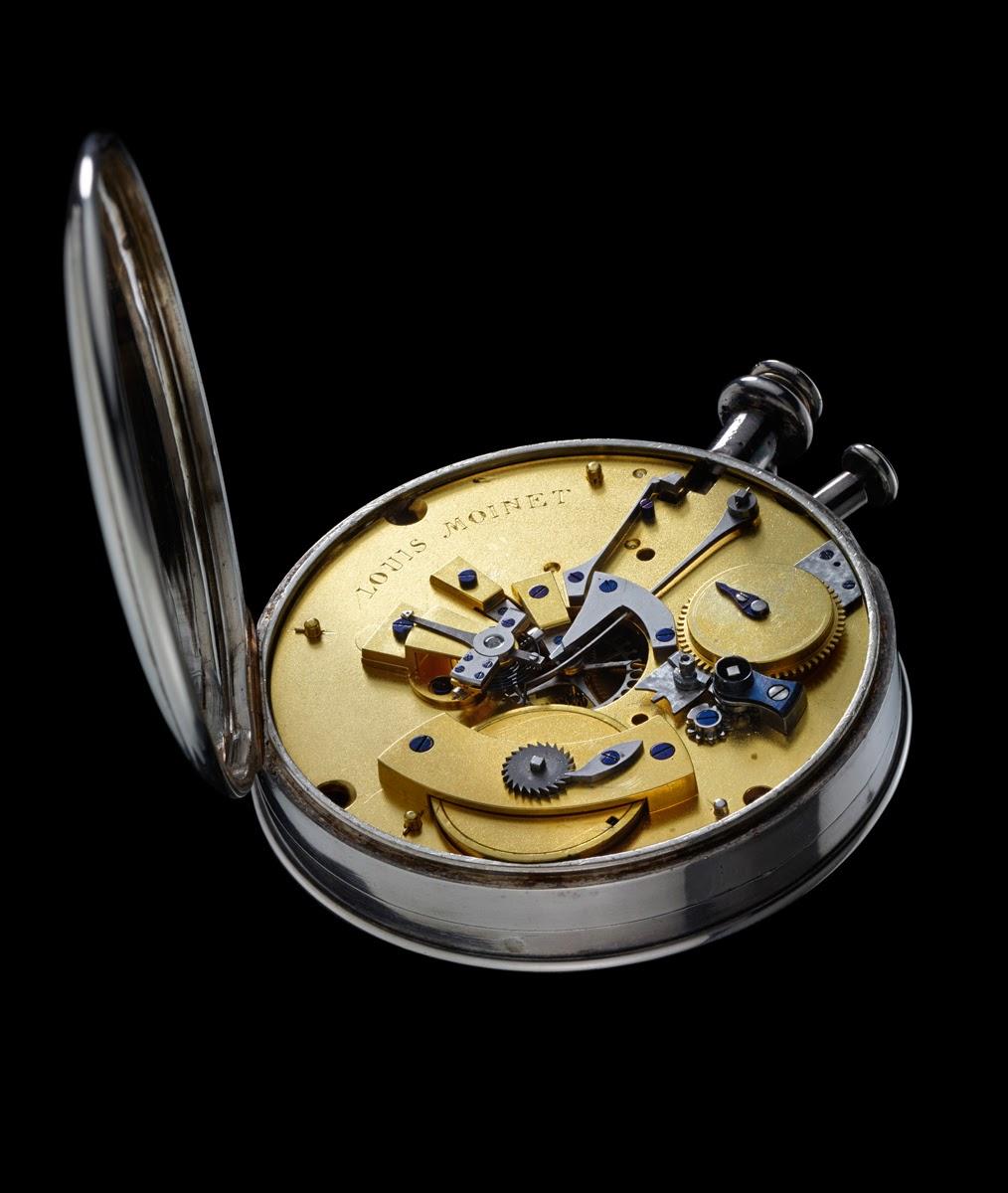 Louis Moinet debajo del reloj9