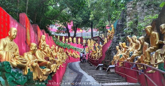 cool en thousand Buddhas Monastery HongKong