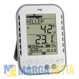 Jual Thermohygrometer with Data Logger TFA 30.3039.IT 'KlimaLogg Pro'