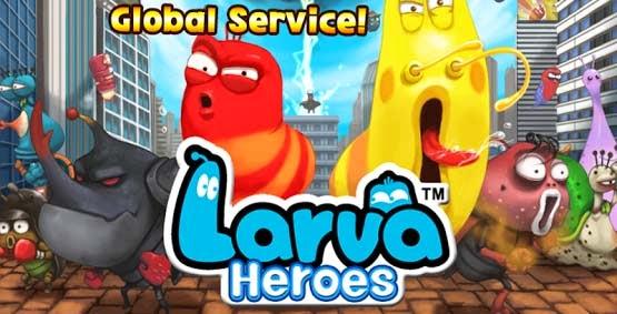 Larva Heroes Lavengers 2014