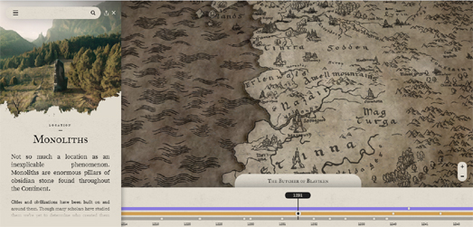 Maps Mania: The Witcher Interactive Map