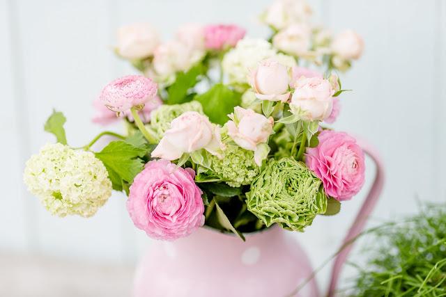 Von Überraschungen und Lieblingsblümchen, Friday Flowerday, Pomponetti