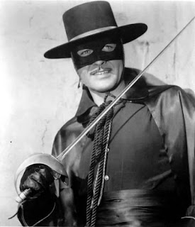 ... do Zorro de Guy Williams