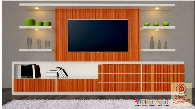 Harga rak TV hpl di bekasi,harga lemari per meter