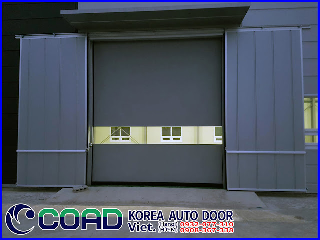 Cửa tự động, cửa cuốn siêu tốc, cửa đóng mở nhanh, cửa cuốn tốc độ cao, COAD