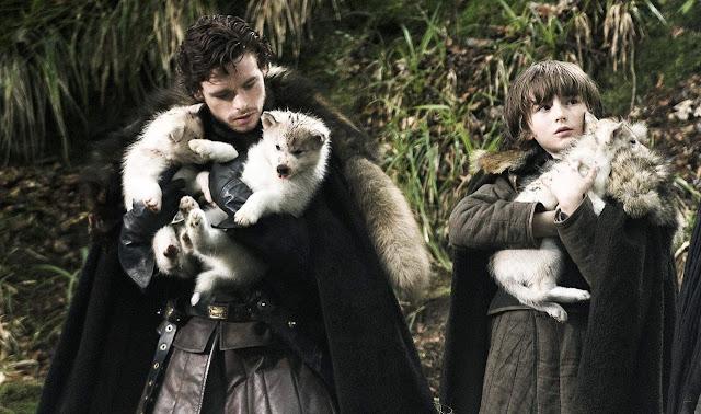 Direwolves - Game of Thrones Season 1 Episode 1