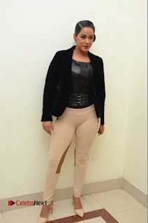 Actress Mumaith Khan Latest  Pictures at Thikka Audio Launch  0048