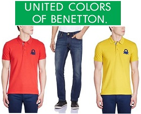 United Colors of Benetton Men's Clothing – 55% -75% Off @ Amazon