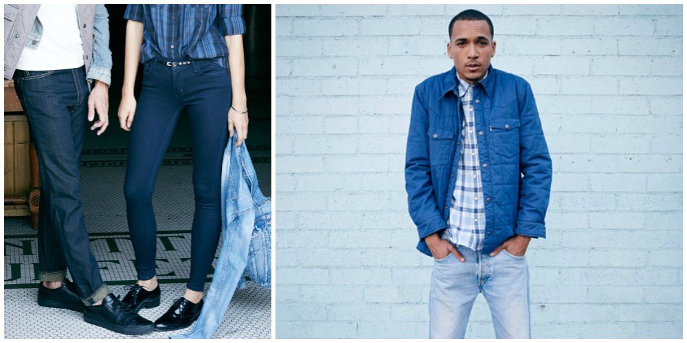 MEN FASHION LEVIS 501 CT JEANS | summer trend inspiration levi campaign ss 15 customized and tapered denim