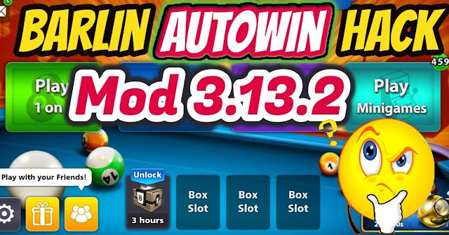 Hack 8 Ball Pool Barlin Mod Auto Win 2018