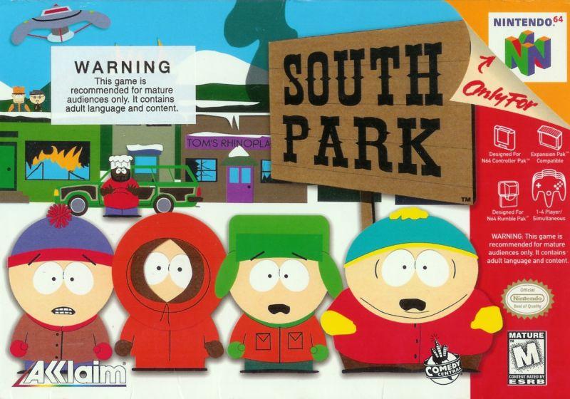 ROMs - South Park (Português) - N64 Download