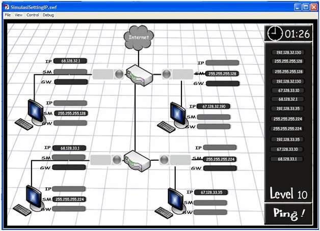 Software Simulator jaringan keren dan menarik untuk belajar jaringan ~ Kiara Komputer