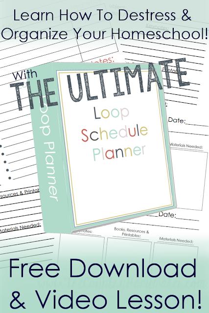 homeschool loop planner