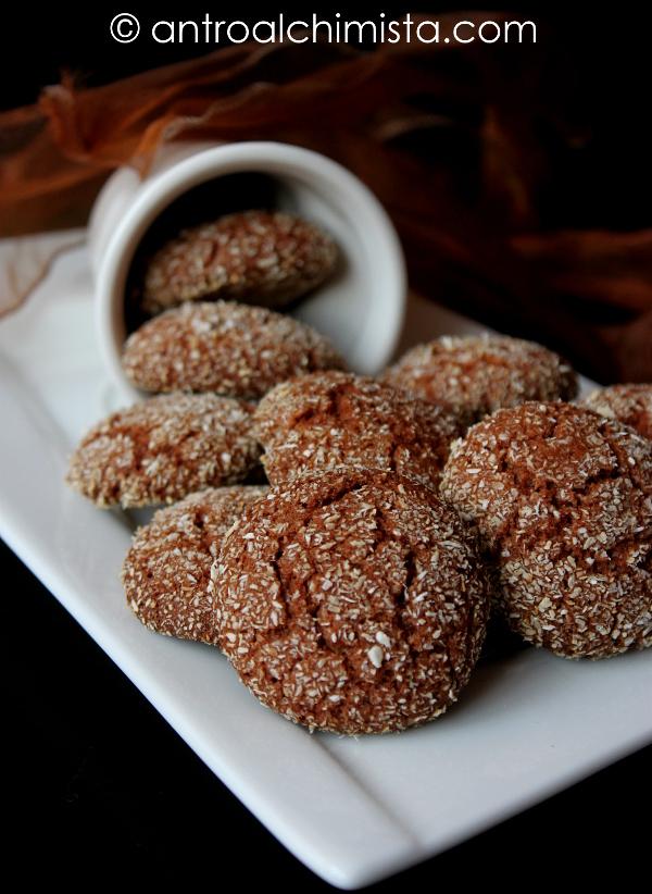 Biscotti con Farina di Castagne e Cocco