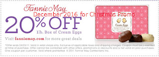 Fannie May coupons for december 2016