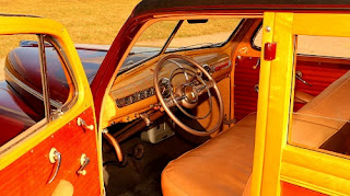 1946 Ford Super Deluxe Station Wagon Interior