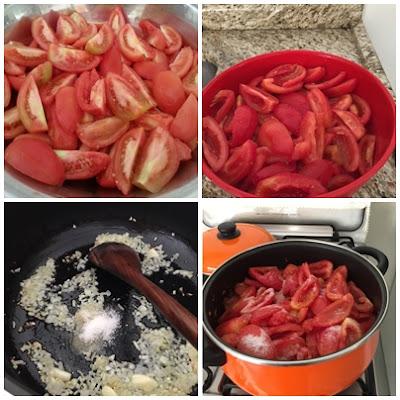 como fazer molho de tomate em casa