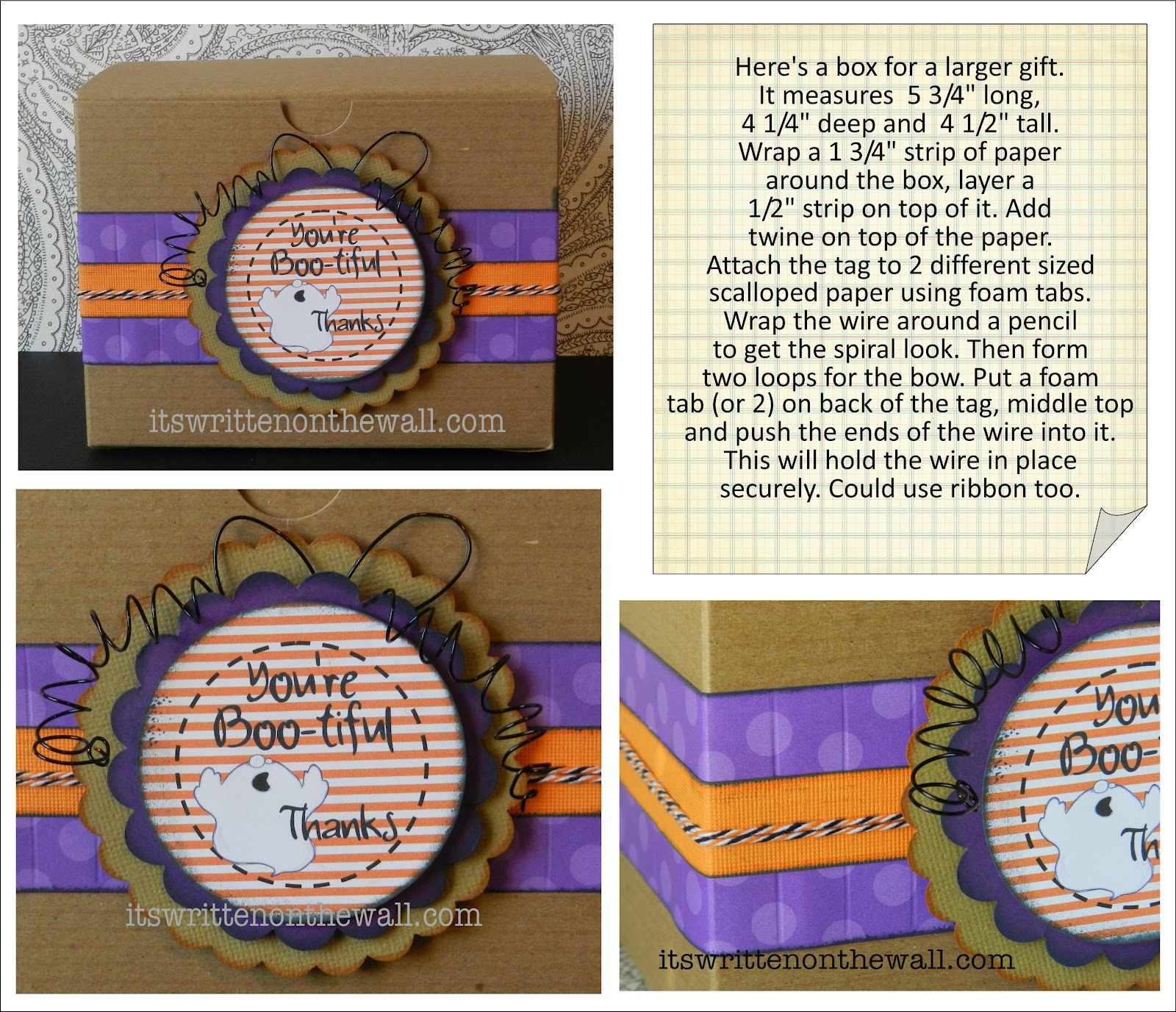 it s written on the wall seriously cute halloween treat tags for