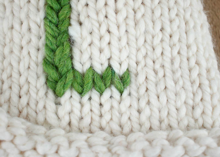 Back Stitch Embroidery On Knitting : How to Embroider on Knitted Items - Gina Michele