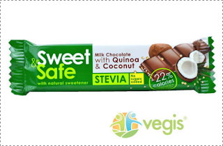 Ciocolata cu Stevie, quinoa cocos se poate comanda aici