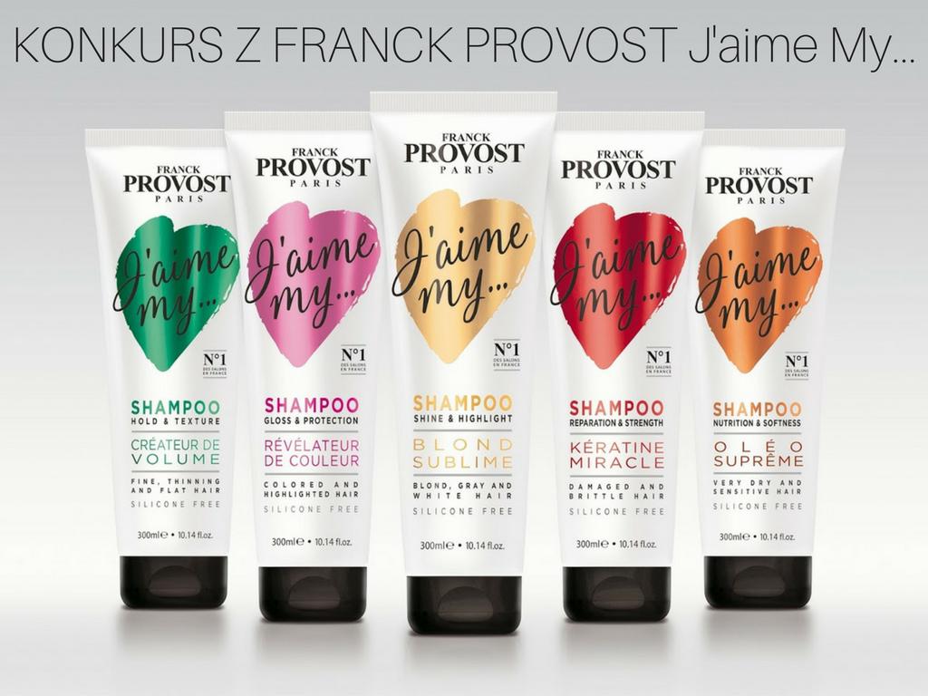 KONKURS z Franck Provost J'aime My... czyli Francuski szyk
