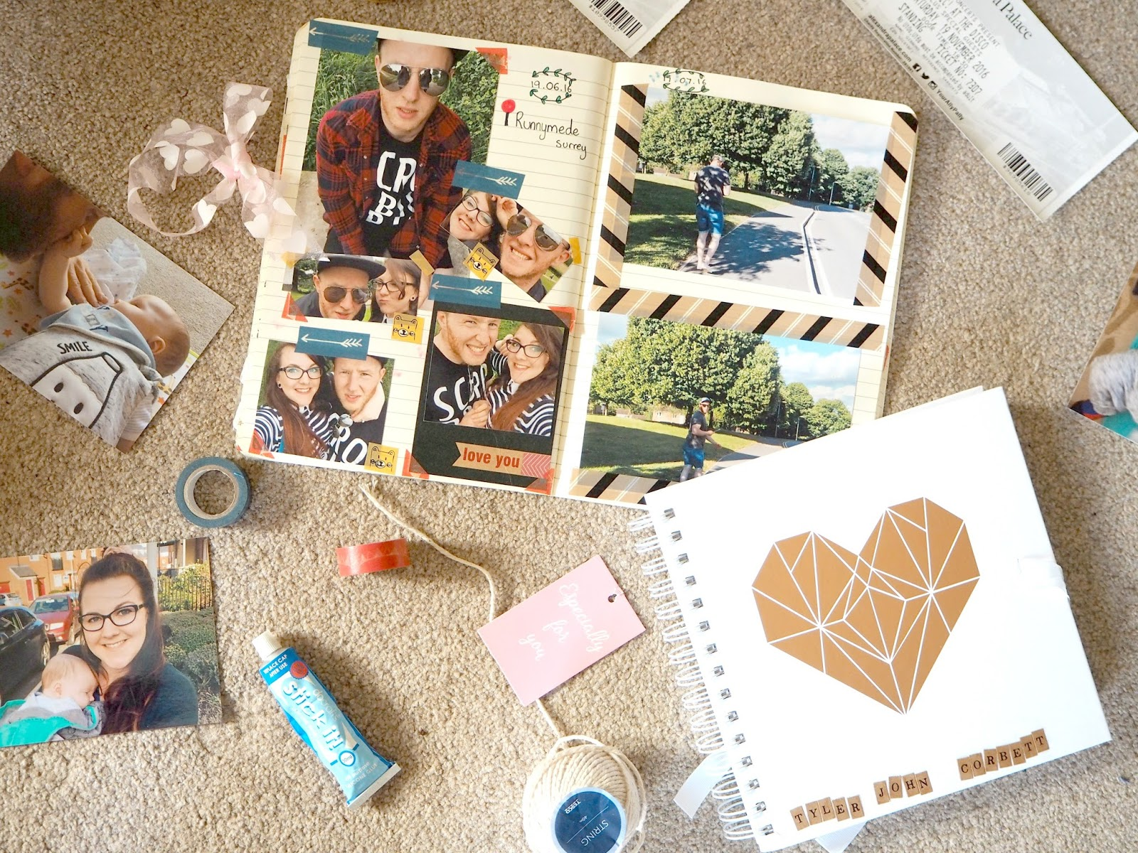 AT HOME DATE NIGHT IDEAS | Scrap booking | Love, Maisie | www.lovemaisie.com