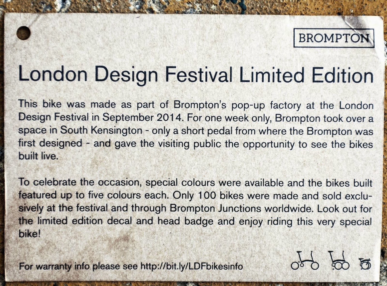 Brompton Limited Edition