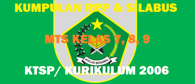 Download RPP SKI MTs KTSP Kelas 7, 8, 9