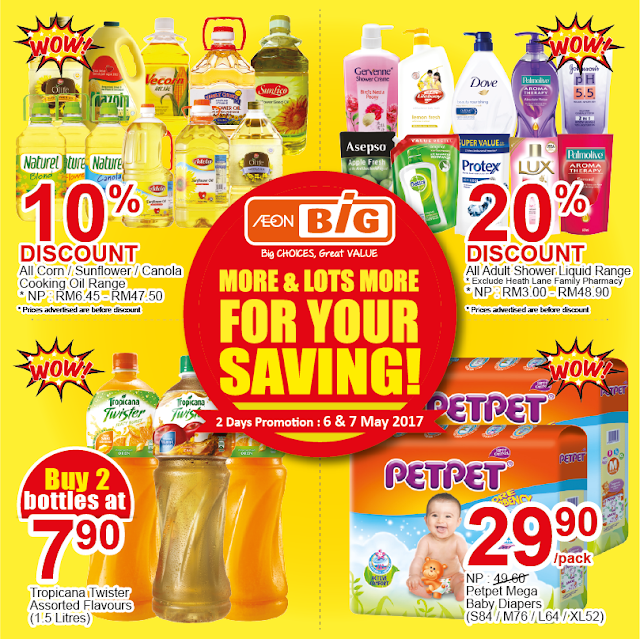 MY AEON BiG Discount Offer Weekend Catalogue