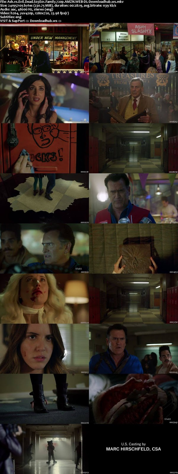 Ash vs Evil Dead S03E01 230MB WEB-DL 720p ESubs