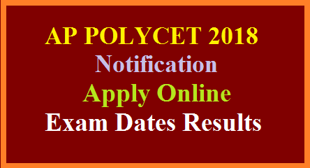 AP POLYCET 2018 Notification Exam Dates Fee Payment Submit Online Application form