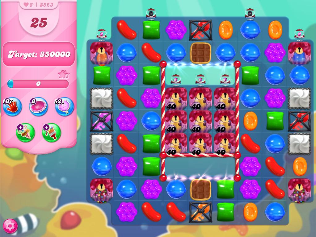 Candy Crush Saga level 3823