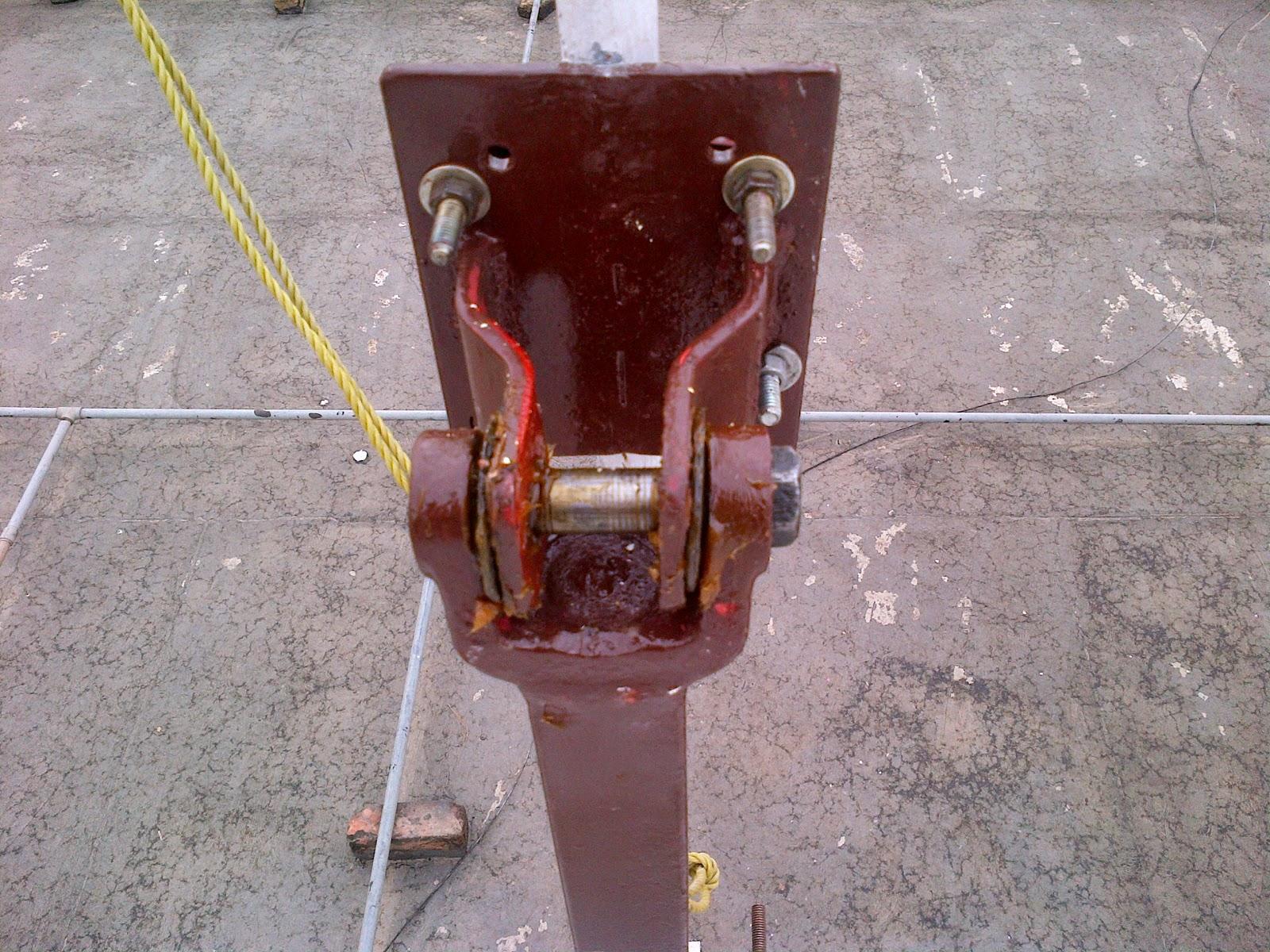Jeep Slip Yoke/Shackle bolt Tiltover Mast | Me and my extravagence !!