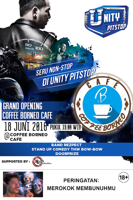 Grand Opening Coffee Borneo Cafe