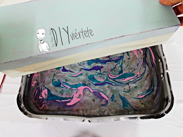 DIY-caja-madera-manualidades-marmoleado-marmolado-pinturas-Opitec-Handbox-mint-colores-vintage-11