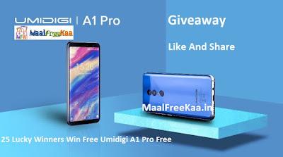 Free Phone Umidigi A1 Pro