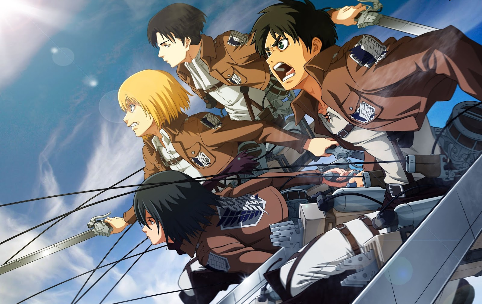 28 Attack On Titan Wallpaper Magone 2016