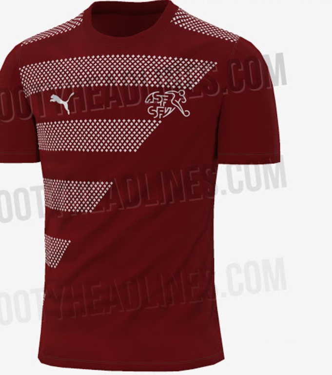 Switzerland Euro 2020 Away Kit leaked